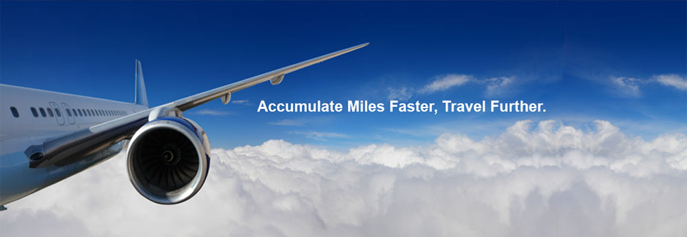 Enjoy the additional bonus frequent flyer miles / points.